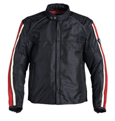 The AirFlow mesh construction is perfect for keeping cool when the temperatures rise. Combined with the cool retro styling of a Caf Racer jacket, the Air Retro jacket is ideal for the summer classic rider.High-density mesh and 600D PolyCordura combination