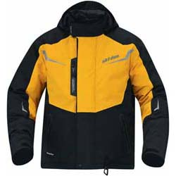 No-compromise jacket for extreme temperatures and conditionsStretches to 300% of its size Breathability increases with increased heat and humidity 100% waterproof  non porous membrane never quits100% windproof  non porous, meaning that wind has n