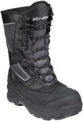 Designed for all-purpose trail ridingWaterproof membraneSynthetic leather upperThinsulate insulationRemovable insoleWaterproof rubber bottomUltra grip outsole designComfort-rated to -49F (-45C)