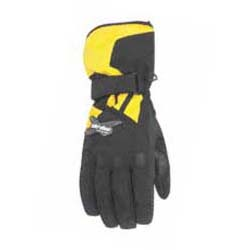 Excellent glove for comfort in all riding conditionsHipora membrane for more breathabilityStay-dry moisture management liningStretch texturized fabric facilitates movementPadded knucklesRubber palm and finger print for improved gripAdjustable wristsShell