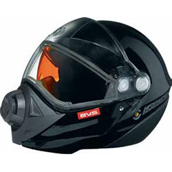 BV2S fog-resistant mask system with unparalleled adjustment capabilities to adapt to all facesIntegrated backlightDual lens visor featuring enhanced 180 peripheral visionAdjustable sunshieldFront push-button releaseDetachable breathing maskQuick-release c