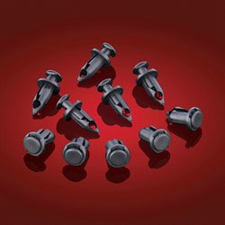 In the case of broken or lost OEM rivets we now offer replacement Large Reusable Rivets for ATVs. Packaged as a pack of 10. Fits ATV mud flaps, etc.