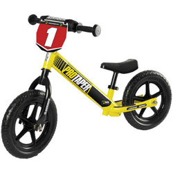 If your toddler can walk, a STRIDER will get your toddler cruising over dirt, grass, andpavement with ease. Designed to be steady, stable, and safe, the STRIDER ST-4 bike isperfect for children from 18 months to 5 years old. Weighing only 6.7 pounds, t