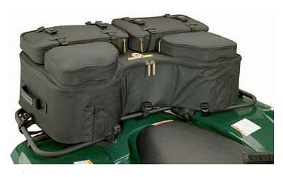 600 denier nylon is used to construct a rigid bag that includes riveted straps andcarrying handles for true functionality Large storage compartment features aremovable cooler for keeping items cold, or hot, moveable storage dividers, key clipand two