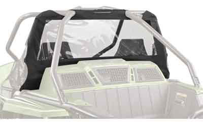 Maximum visibility from a see-through designSignificantly reduces dust swirl when used with awindshieldWorks with a Bimini Top, Hard Top, orAluminum Roof
