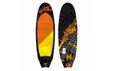 The Landlock is geared for riders taking a slash for the first time, bigger riders, or just the toes on the nose mellower transitioned, tail heavy session. This fresh water creation features our softest/thickest rail with a concave top deck for that forgiv