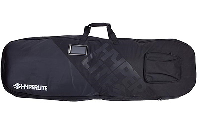 Pack your quiver and get ready for a Wakeboard adventure with the Hyperlite Deluxe Wheelie bag. Soft rolling oversized wheels help you breeze through airports and strategically placed handles make loading a cinch. Whether youre chasing your pro card orj