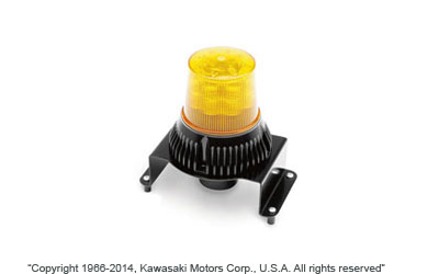 Affix a Beacon Strobe Light to the roof of yourHard Cab Enclosure to alert others of yourpresence on the job site or when visibility is at apremium.LED bulbs40W / 12-80VDCAcrylic amber colored lens and nylon baseExtremely durable, dependable an