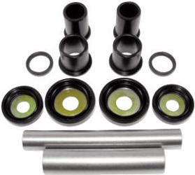QuadBoss offers a cost-effective kit containing all bearings, bushings, seals, shafts and miscellaneous components to repair the upper and lower a-arms and knuckle2 kits required per vehicle
