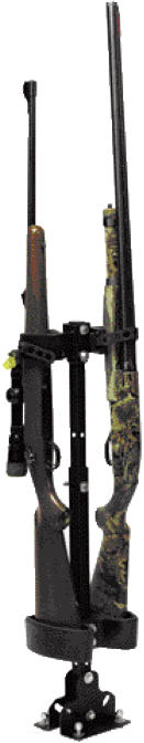 Safely and securely mounts any shotgun or rifleRubber strap keeps forearm of firearm secure to eliminate vibration and movementUniversal fit on all UTVs without center hump (UTV Riser Plate #57-8407 required for UTVs with center hump)Fully adjustable for d