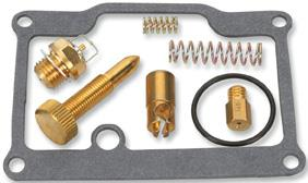 Complete kits to rebuild OEM carburetorsEach kit contains all necessary gaskets,  O-rings and jets