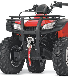 Durable, long-lasting mounting system will optimize the performance of your winchSpecifically designed to fit comfortably within a particular ATV model framework with little or no modificationInstalls easily and includes all required parts and easy-to-use