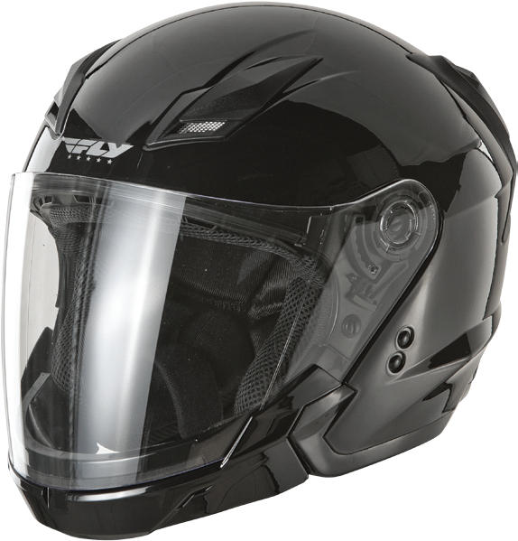 All new from FLY, the Tourist open face helmet is packed full of features and accessories making it an excellent choice no matter what the season. From spring to summer to fall this helmet has you covered.Each Tourist motorcycle helmet comes configured wit