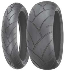 Large block type tread pattern with excellent braking, cornering and acceleration characteristicsSpecially designed tread grooves help to dissipate water efficiently on wet surfacesAramid belts enhance high speed performanceW speed rated (168 mph) unless n