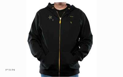 Medium weight zip-up