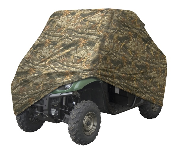 atv CoverMade of Durapoly nylon to withstand all weather elementsRhino Hide reinforced cornersWinch gussetTie down grommets