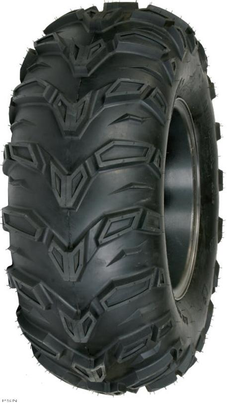 Aggressive tread design features angled lugs to achieve an exceptional level of tractionSidewall lugs improve traction in deep rutsGreat steering response and puncture resistance6 Ply rating