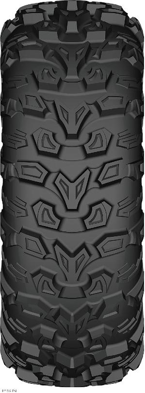 1 1/8 Deep aggressive tread patter that works excellent on trail or in extreme condistionsComputer designed smooth ride tread pattern offers a comfortable ride and excellent traction6 ply heavy duty radial construction offers stability, controlHigh grad