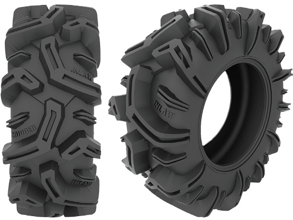 2 deep center lug increases to 2 1/4 at outside edge to paddle you through the mud pit quicklyUltra strong carcassTread design wraps down sidewall deep paddling tractionAggressive mud tread pattern offers exceptional deep mud traction, self cleaning, and
