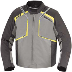 Water-resistant jacket with RPM MAX water and wind proof breathable technologyTeflon HT treatment on light color fabric for additional water and stain resistanceAll-seam sealedSlightly shorter at front for comfort when seated on vehicleRemovable light insu