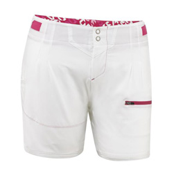 Fashionable boardshort with advanced 4-way stretch fabric that is ultra light and driesquickly. Functions well in water and looks great out. Features mesh lining, snap waist closure. Has 2 pockets. Waterproof pouch is included to keep small items dry.88% P