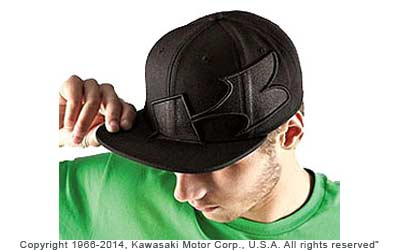 85% acrylic/ 15% woolSnap back adjustableFlat visorEmbroidered logos on front andsidesBlackOne size fits most