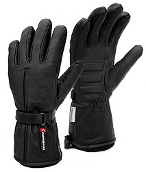 Our most popular Coreheat12 motorsport glove iswarm and durable. Its all leather construction featuresergonomic finger design for flexibility, easily adjustablewrist cinch straps with velcro closure and wear resistantpalms with full bone impact pa