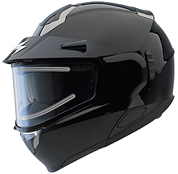 EXO 900 SR EL snow helmets feature an electronically heated shield design and internal breath box for the ultimate fog-free vision in cold temperaturesThis is our premier snow shield systemA supplied power cord connects the shield to your snowmobile power
