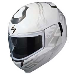 Transformer HelmetAdvanced Polycarbonate Shell - DOT/ECE ApprovedAirFit Liner Inflation SystemEverClear No-Fog FaceshieldSpeedView Retractable Sun VisorAero-Tuned Ventilation SystemKwikWick 2 Anti-Microbial Fabric LinerFlip-Up Chin BarO
