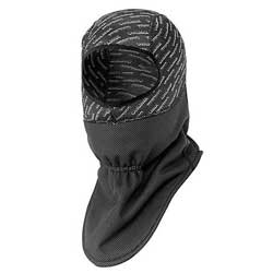 Protects head and neck from thecold windStretch Coolmax upper head protectionWater-resistant, all weather material3-Dimensional pattern with flat stitchingExtended tail front and back1 size fits most