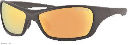The clear lenses are ideal in flat, low-light conditions and reduce glare from headlightsMulti layered mirrored coating (shown on outside of lens) to help eliminate glareProves 100% protection against UVA and UVB rays, and are made from shatter-resistant p