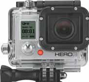 Smaller, lighter and Wi-Fi enabled. GoPros new HERO3 Silver Edition camera makes it easy to capture and share your world.Key Benefits:Immersive, wide angle capture of your favorite experiencesProfessional quality HD video and 11MP photosRugged housin