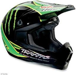 Join the Monster army with this helmet featuring the officially licensed Team Pro Circuit graphicsBlended ABS and polycarbonate shell construction for maximum coverage with minimum weightOversize forehead ventingDual-density expanded polystyrene linerPlush