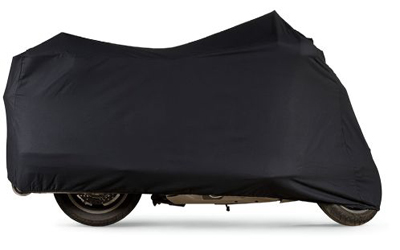 Motorcycle covers ideal for indoor usage onlyMade of 100% cotton, they are ideal to keep off the dust and provide a layer of defense against light scratchesBreathable fabric allows moisture to escapeShock cord hemMade in the U.S.A.