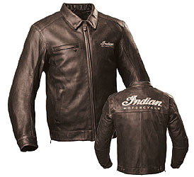 This is a classic. Period. This aged brown leather jacket has a comfortable riders cut, Indian branding and a removable plaid cotton liner for multi-season comfort. The premium leather and CE protection (removable) offer outstanding protection.Shell: 100%