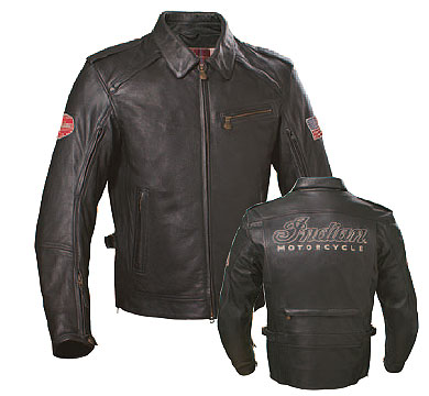 Classic style with functional features including hidden snap collar, zippered sleeves and pockets, CE-approved elbow armor and adjustable fit.Shell: 100% leatherVenting: Hidden ventilation panels on arms, shoulders, and backPockets: 3 exterior and 2 in