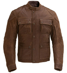 This leather jackets premium suede finish projects timeless, tasteful style and it offers dependable protection with removable armor. Understated Indian Motorcycle branding enhances the jackets classic style. Shell: 100% leatherVenting: Hidden ventila