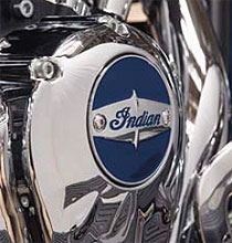 Optimize the custom styling of your Indian Motorcycle with this Indian Motorcycle Primary Cover that coordinates with other accessory covers and custom elements featuring Indian Motorcycle branding and graphics (each sold separately). This emblem gives