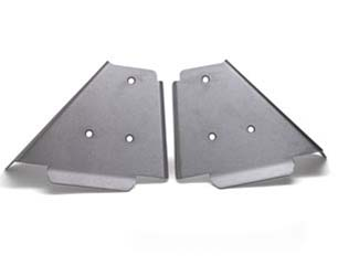 Lightweight, aircraft-grade aluminum plates (set of two) feature recessed mounting hardware and deliver extra protection for front drive shafts.FITS:Big Red 2009-2013