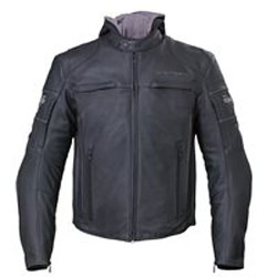 Get the best combination of protection, style, and versatility youll find on the open road. This leather Magnum Jacket has a removable hoodie liner, and the jacket and hoodie can be worn together or separately. The jacket features adjustable ventilation a