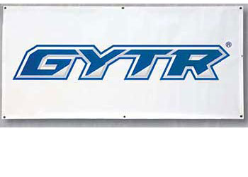 White/Blue with the GYTR (Genuine Yamaha Technology Racing) logo.