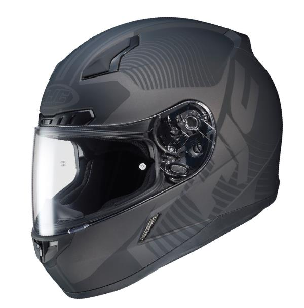 Advanced Polycarbonate Composite Shell: Lightweight, superior fit and comfort using advanced CAD technology. 2  Shell sizes 1). XS  to MD 2). LG to 5XL and 3 EPS LinersAnti-Scratch Pinlock ready Faceshield (HJ-09): New 3D design provides 95% U.V. pro