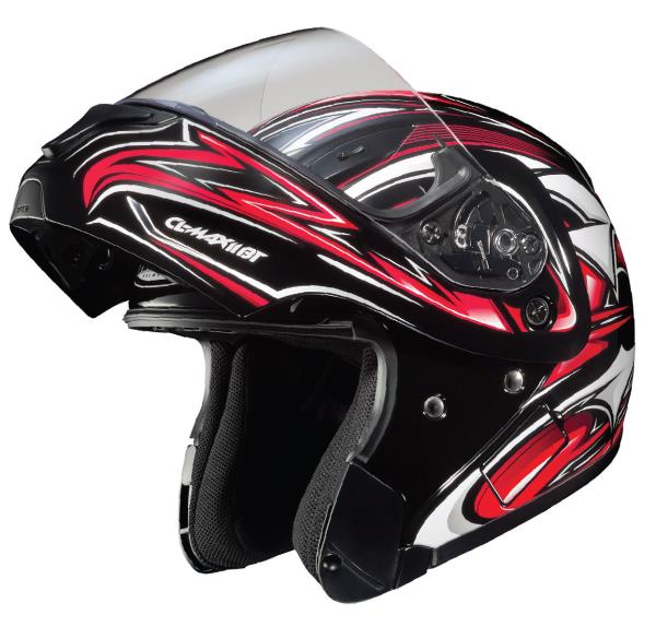 Advanced Injection Molded Lightweight Polycarbonate Shell: Single-Button One Handed Chin Bar/Face Shield ReleaseSuperior Fit and Comfort Using Advanced CAD TechnologyBlueTooth Ready: Integrated recess and interior speaker cavitiesOptically Superior Facesh