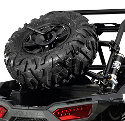 Fits RZR XP 1000. Spare tire and wheel not included.