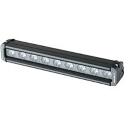 3 watt LED lights with max output of 2,100 lumensCustom combination of spot and flood lenses provide optimal light beam projectionMount installs in designated, integrated location using provided fastenersFor Polaris front brushguard