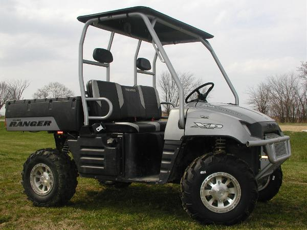 2007 Polaris Ranger XP Turbo Silver Limited Edition