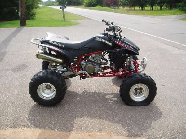 Used 2007 Honda Trx450r Elec Start For Sale Oklahoma