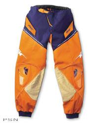 The Official Pants of the KTM Offroad Racing Team. The Core Pants provide comfort, fit, protection and durability. Pant pattern developed for performance and comfort in the riding position. Sublimated spandura stretch knee panels for expansion and ventilat