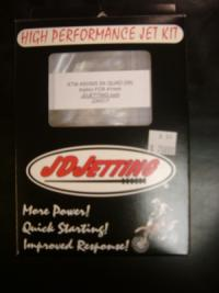 This is a JD Jetting Kit for KTM 450/505 ATV's.Reg. $75.99  on sale for $49.99limited to in stock only