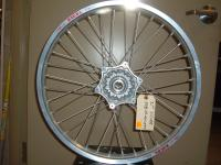 This is a NEW Excel Rim Silver for KTM front wheel.  Part # 54809001044limited to in stock only